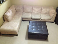 """2 Piece Sectional """"""""""""price reduced***"""