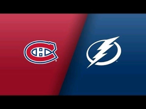 4 BLANCS / WHITES - Tampa Bay Lightning vs. Montreal Canadiens
