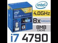Intel® Core™ i7-4790 Processor 8MB Cache, 4Ghz. LGA 1150