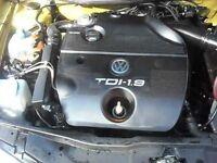 Bora golf Leon Toledo 1.9tdi 90/110Bhp Engine