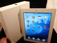 NEW Boxed Apple iPad 2 16GB Wi-Fi, White, 2nd Generation, Factory Reset