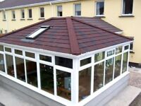 Conservatory Roof Insulation; Tile Effect and Solid Guardian Warm Roof Conservatory
