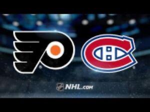 CANADIENS VS FLYERS ROUGE SAMEDI LE 19 JANV.(2x101-2x114)