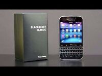 LIKE NEW BLACKBERRY CLASSIC UNLOCKED TO ALL NETWORKS EX WORKPHONE