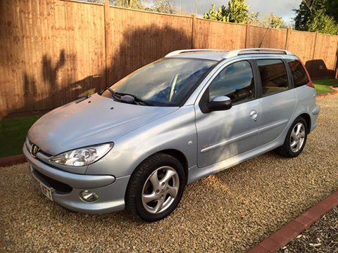 2006 Peugeot 206 Estate Automatic 3 Months Warranty In