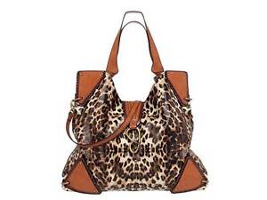 authentic Jessica Simpson Jimmy Leopard Tote