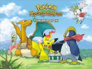 Pokemon Mystery Dungeon Explorers of Sky for DS