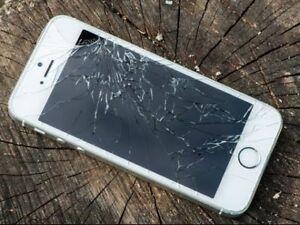 ★Réparation LCD Cassé en 15 Minute iPhone 6 49$ iPhone 7 75$