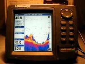 LOWRANCE LMS 525 C DF GPS/ FISHFINDER COMBO