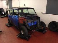 Classic Mini Restoration Needed Spares or Repairs 1986 998cc