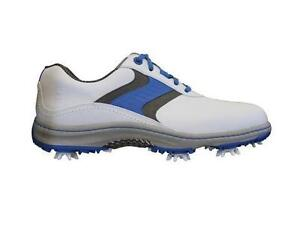Footjoy Men's Golf Shoes Contour 54170 White/Blue/Grey