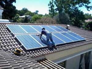 Home or Business solar panel system. 3kw