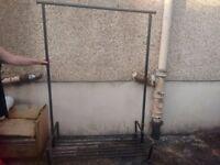 large clothes rail