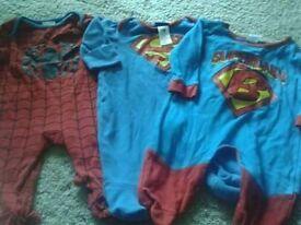 Boys 3-6m sleepsuit bundle
