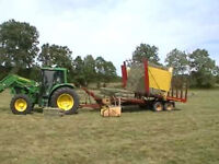 Acreage land which needs Haying - small square bales only