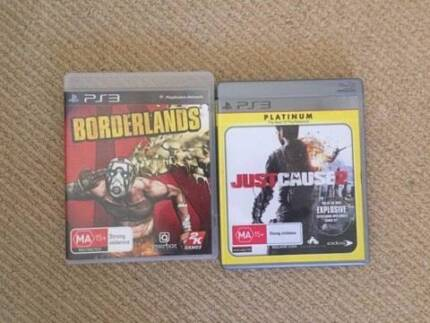 PS3: Borderlands and Just Cause 2