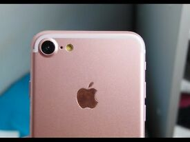 iPhone 7 brand new condition - 32gb rose gold