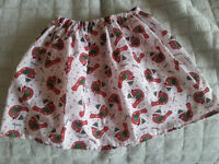 Xmas skirt to fit 4-7 years old