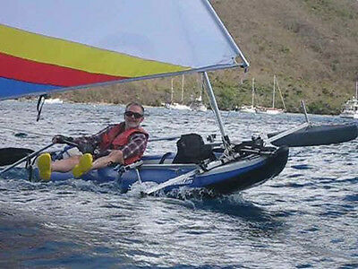 The rigidity of this Sea Eagle 420X kayak makes if fun to sail
