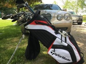 Taylormade and ping golf clubs