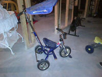 Trike with canopy