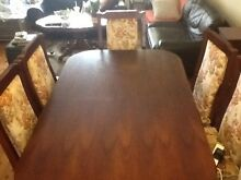 Dinning table and 6 chairs!! Roselands Canterbury Area Preview