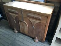Antique Art Deco sideboard
