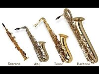 Saxophonists wanted for friendly ensemble (intermediate ability)