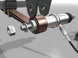 Volmac Rehobot Spring Eye Bush Removal Bushing Puller Kit Suitable for Volvo Scania and Hitachi