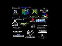 Wanted games consoles retro sega nintendo playstation xbox snes megadrive n64 wii ps1 ps2 ps3 ps4