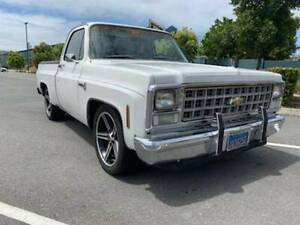 1980 CHEVROLET C10 SHORT BED PICK UP LHD Southport Gold Coast City Preview