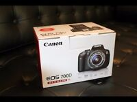 [New] Canon EOS 700D DSLR with EF-S 18-55mm f/3.5-5.6 IS STM Lens with Bag and 32GB Memory Card