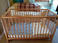 IKEA cot - great condition