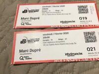 2 billets pour le spectacle de Marc Dupré à Rivière du Loup