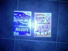 Wii Games x 2
