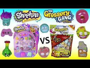 Trade my Shopkins for your Grossery Gang Cambridge Kitchener Area image 1