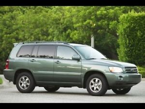 Looking for 2001-2007 Toyota Highlander