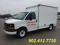 """""""EXPRESS DELIVERIES"""" ITEMS TRANSPORTED IN ENCLOSED CUBE VAN"""