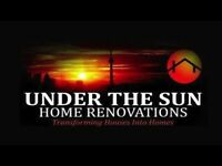 UNDER THE SUN HOME RENOVATIONS