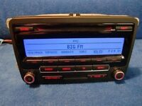 RCD 310 Volkswagen radio and CD player