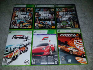 XBOX 360 Racing and Sports Games (Various Prices) `
