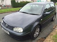 Vw golf gt tdi 150bhp grey service mot £1275