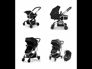 Stroller+Bassinet+Carseat &Base - LIKE NEW