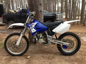 2006 YZ250 (2 stroke) - woods/single track setup, many mods