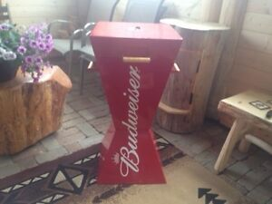 Super cool Budweiser Beer Charcoal Grill