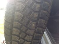 Very  good used winter tires 235/70 4 tires