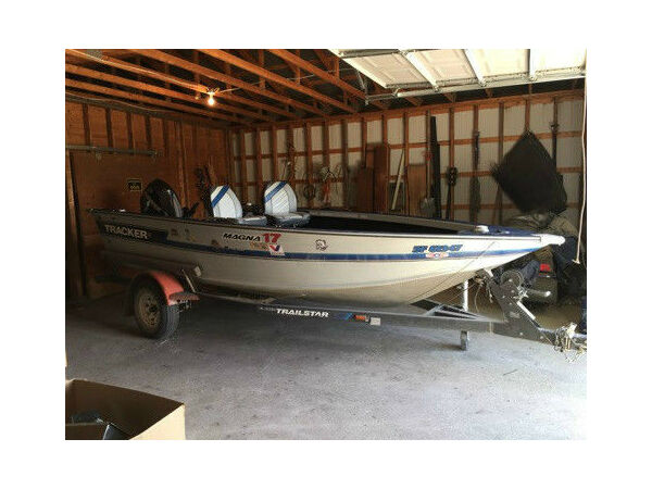 Used 2006 Tracker 17 foot Magnum