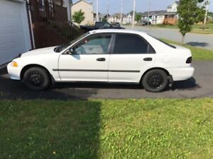 95 civic special Low km,no problems,perfect condition