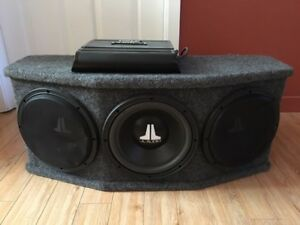 Subwoofer et amplificateur