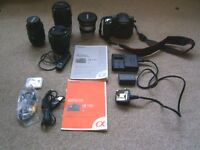 Complete Sony Digital Enthusiasts Camera Kit